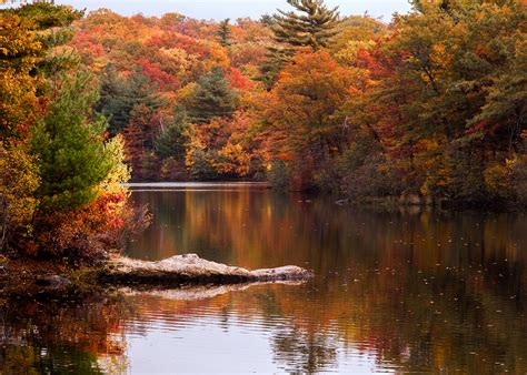 The One Hikeable Lake In Massachusetts That's Simply