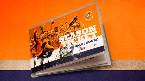 ALL SEASON TICKETS NOW DISPATCHED OR READY FOR COLLECTION