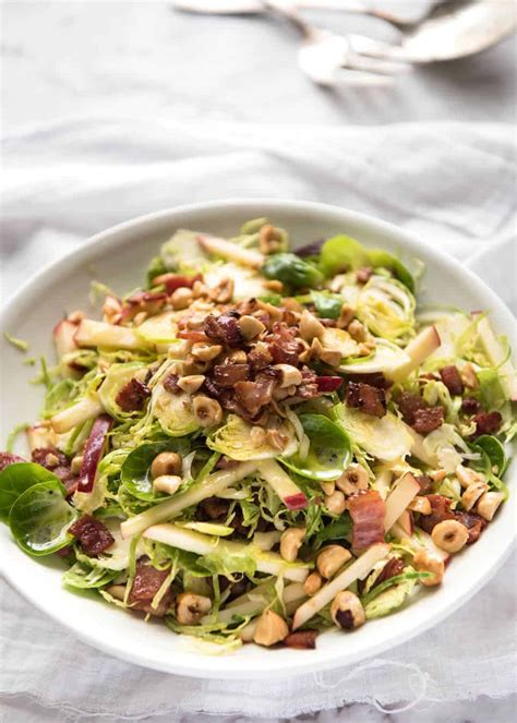 Brussels Sprout Salad | RecipeTin Eats