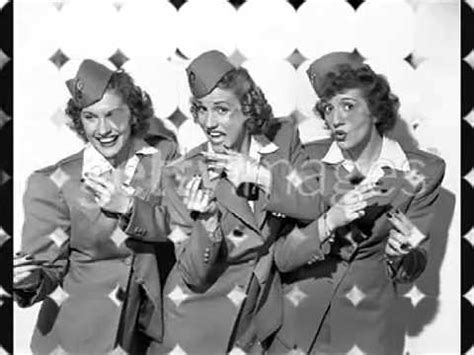 The Andrews Sisters - Rum and Coca Cola (High Quality