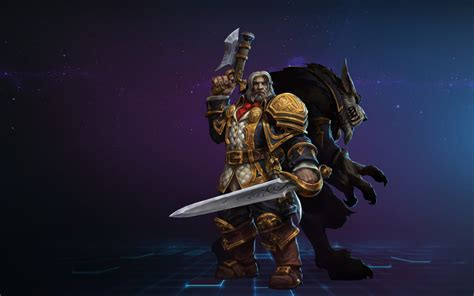 Heroes of the Storm's Greymane straddles the ideal line