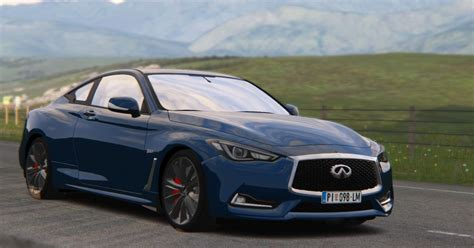 Assetto Corsa : Review of my new 2019 Infiniti Q60S by RTM