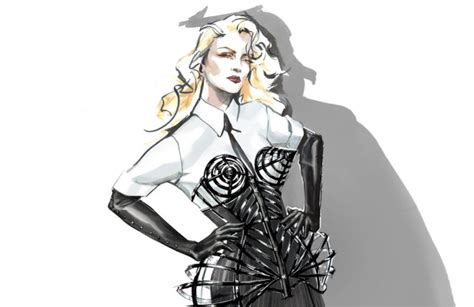 """Madonna Recruits Moschino, Gucci for """"Rebel Heart"""" Tour"""