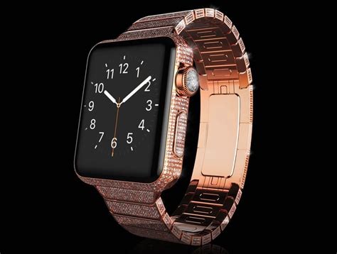 The $163,000 Apple watch is clad in gold and encrusted