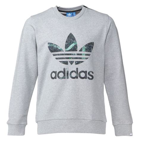 ADIDAS Sweat Col Rond Homme Gris - Achat / Vente sweat