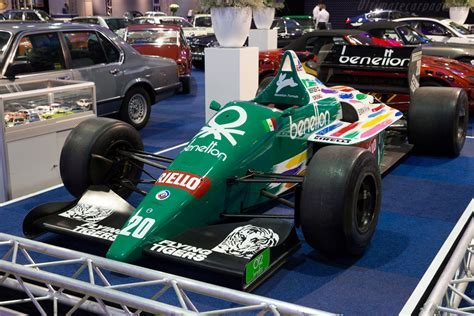 1986 Benetton B186 BMW - Images, Specifications and