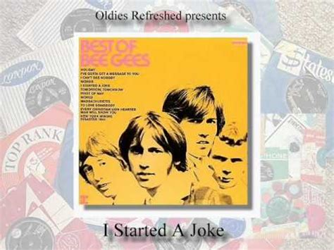 I Started A Joke - Bee Gees - Cover by Oldies Refreshed