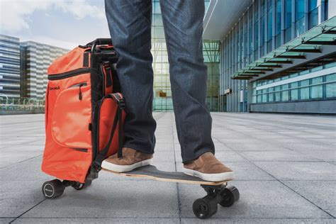 The Movpak Is an Electric Skateboard and Backpack All in