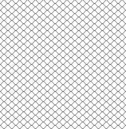 Chain Link Fence Silhouette Background Stock Illustration