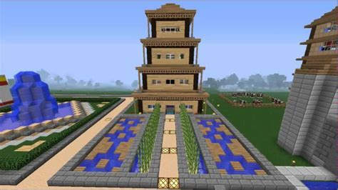 Minecraft Temple chinois [fr] HD - YouTube
