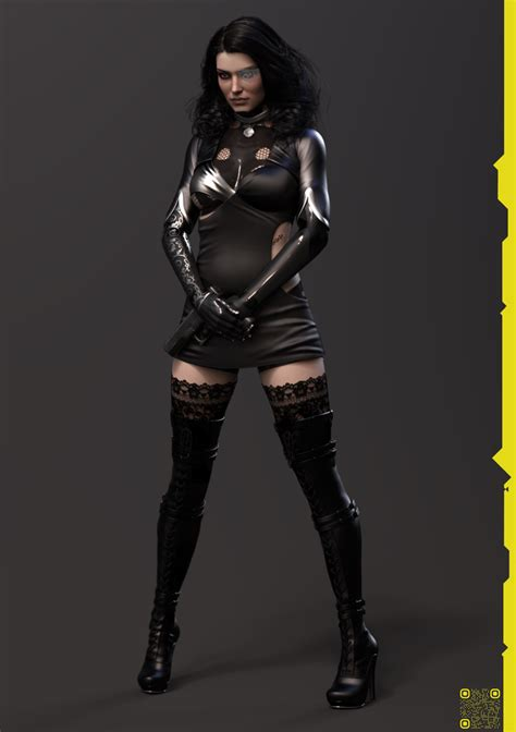 Here's what Cyberpunk 2077 Yennefer could look like - VG247