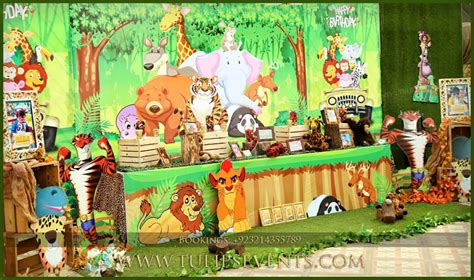 Disney Jungle Themed Birthday Party Planner in Lahore