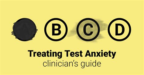 Treating Test Anxiety (Guide)   Therapist Aid