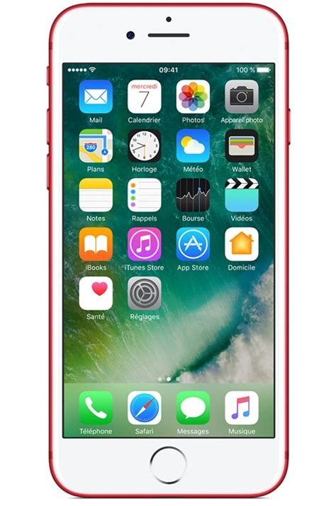 iPhone Apple IPHONE 7 PLUS 256 GO (PRODUCT) RED SPECIAL