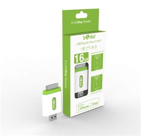 i-USBKey 16GB made for iPhone iPad : Clé USB pour