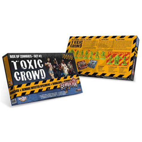 Zombicide - Toxic Crowd - Box of Zombies #2