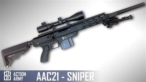 * Airsoft Review * Action Army AAC21 SNIPER | Sous-titres
